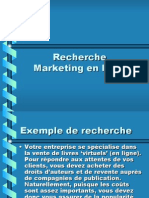 Recherche Marketing