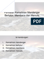 k3 Penilaian Kemahiran Lisan, Membaca Dan Menulis