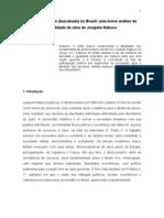 Artigo Abolicionismo Joaquim Nabuco