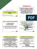Paradigma Gestao Publica