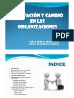 Innovacion y Cambio en Las Organizaciones