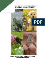 PROYECTO DE INVESTIGACIÓN EN COMPORTAMIENTO ANIMAL