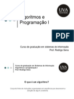 algoritmos e programação I
