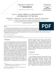 Effect of Organic Additives on Characterization of Electrod