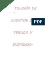 ANTOLOGÍA DE CUENTOS DE TERROR Y SUSPENSO