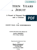 Fourteen Years a Jesuit Volume 2 by Count Paul Von Hoensbroech