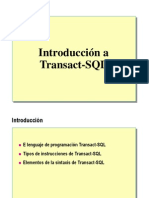 1.- Introduccion a Transact-SQL