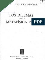 Dilemas de La Metafisica 1