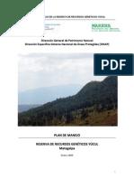 Pgmf Reserva Genetica de Yucul