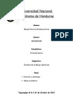Trabajo sobre Estudios de la Mujer.doc