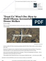 'Trust Us' Won't Do - How to Hold Obama Accountable for Drone Strikes - Garrett Epps -- Feb 8 '13 -- The Atlantic