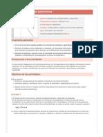 Análisis de funciones polinómicas