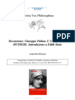[Vox philosophiae][Recensione] Anna Rita Brozzu