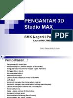 Pengantar 3d Studio Max 1