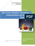 Ejercicios Unidad II Quimica Inorganica Resueltos