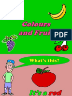 Colours and Fruit Powerpoint