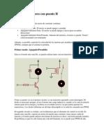 Control de Motores Con Puente H