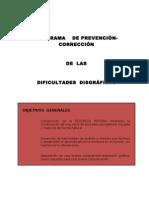 Programa de Disgrafia