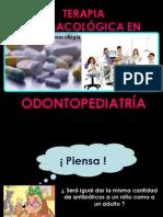 FARMACOLOGIA ODONTOPEDIATRICA