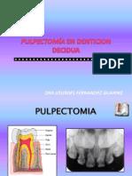 3° PULPECTOMIA Y APICO