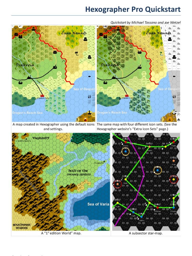 Hexographer World Map.Hexographer Manual Pdf Icon Computing Typefaces