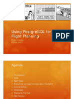 195_Using PostgreSQL for Flight Planning