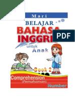 Belajar Bahasa Inggris, Comprehension, NUMBER, Book 2 dan Kunci Jawaban-Key