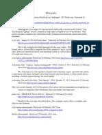 C. Pak Project 3 Bibliography