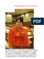 Burma National Assembly Arakan Questions