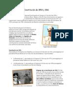 Constitución de 1953 y 1961