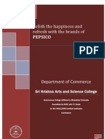 Relish the happiness and refresh with the brands of Pepsico
