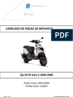Despiece Piaggio Zip Sp