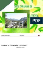 consulta ciudadana jilotepec