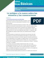 Lo Antiguo y Lo Nuevo Sobre Los Numeros y Las Numeraciones Mbs01_a1_02b
