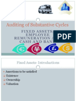 Auditing of Substantive Cycles -