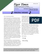Feb 2011 Newsletter Emerson PTA Newsletter