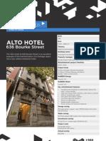 Alto Hotel Case Study