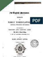 1842 - Fleuron English Surnames Essays