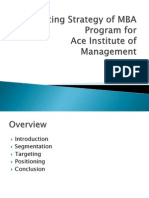 Marketing Strategy of MBA Program_v2
