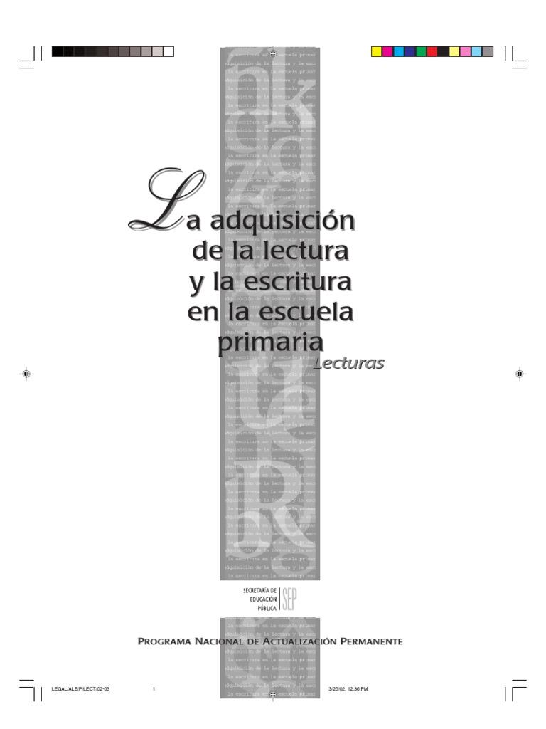 laadquisicindelalecturaylaescrituraenlaescuelaprimaria-120412152535 ...