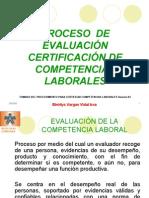 CertificaciÓn Por Competencias Laborales 2009