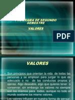4. VALORES