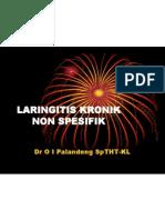 Laringitis Kronik nonspesifik