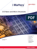 3D Nano and Micro Structures - Material Matters v3n1