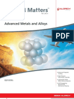 Advanced Metals and Alloys - Material Matters v2n4