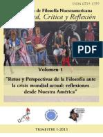 Posibilidad, Crítica y Reflexión, vol. 1