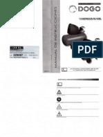 Manual Compresor de Aire DOGO ESPECIALISTA OL195 50 Litros 1.5 HP