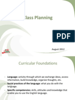 4. Class Planning (Day 2)