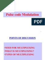 Multiplexing & PCM