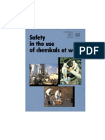 ILO Safety in the Use of Chemicals at Work